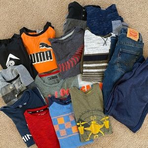 Boys clothes size 10-12